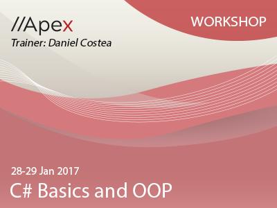 CSharp Basics and OOP 2829Jan2017 Workshop