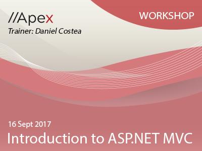 Introduction to ASP.NET MVC 16Sept2017 Workshop